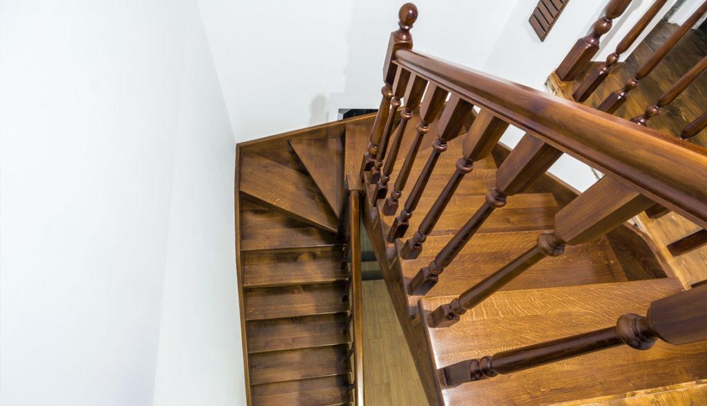 Gewendelte Treppen aus Polen